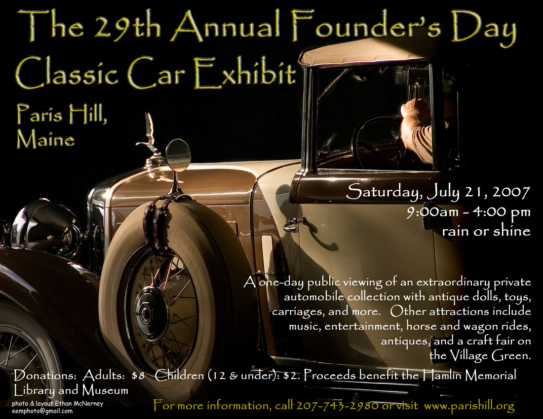 29th Annual Founder's Day Poster