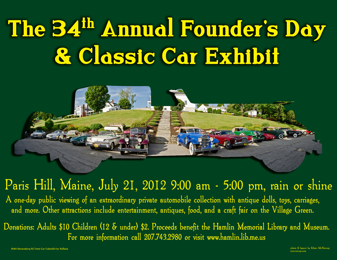 34th Annual Founder's Day Poster