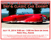 36th Annual Founder's Day Poster