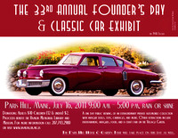 33rd Annual Founder's Day Poster
