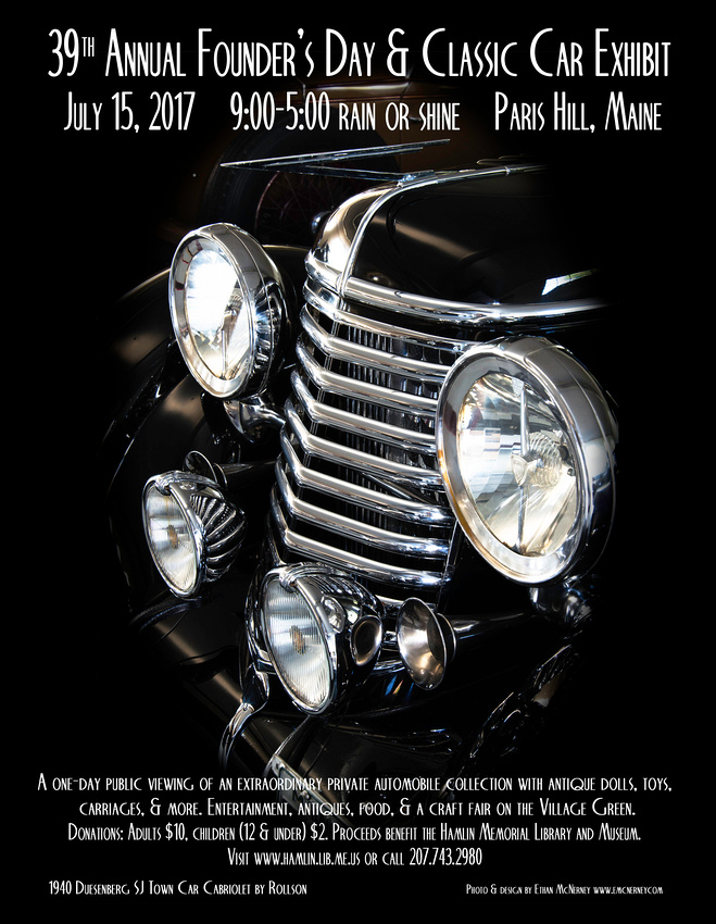 39th Annual Founder's Day Poster