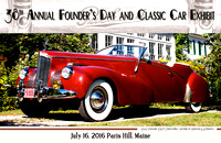 38th Annual Founder's Day poster