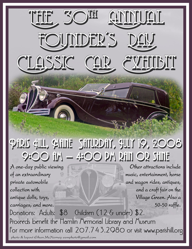 30th Annual Founder's Day Poster